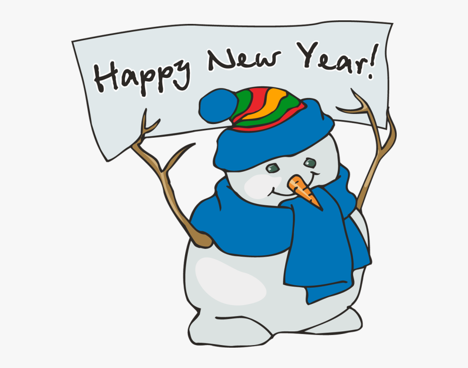 January New Year Clip Art.