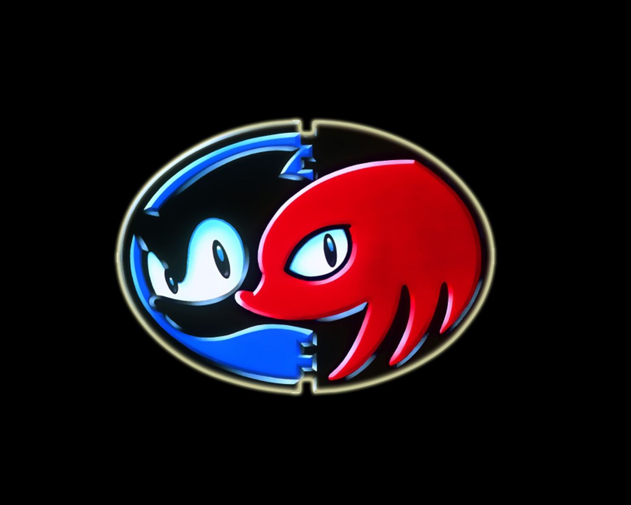 Sonic & Knuckles logo.