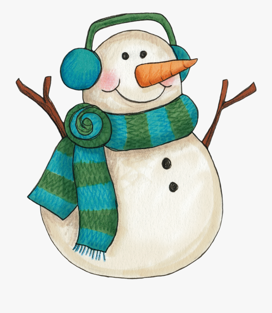 Winter Snowman Clip Art More.
