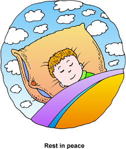 Sleep And Rest Clipart.