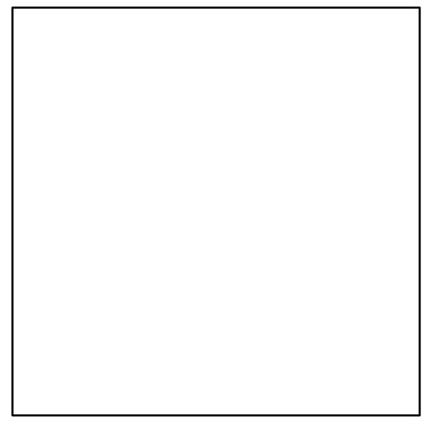 Black And White Square Clipart.