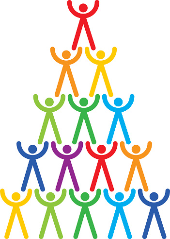 Human Tower Clip Art, Vector Images & Illustrations.