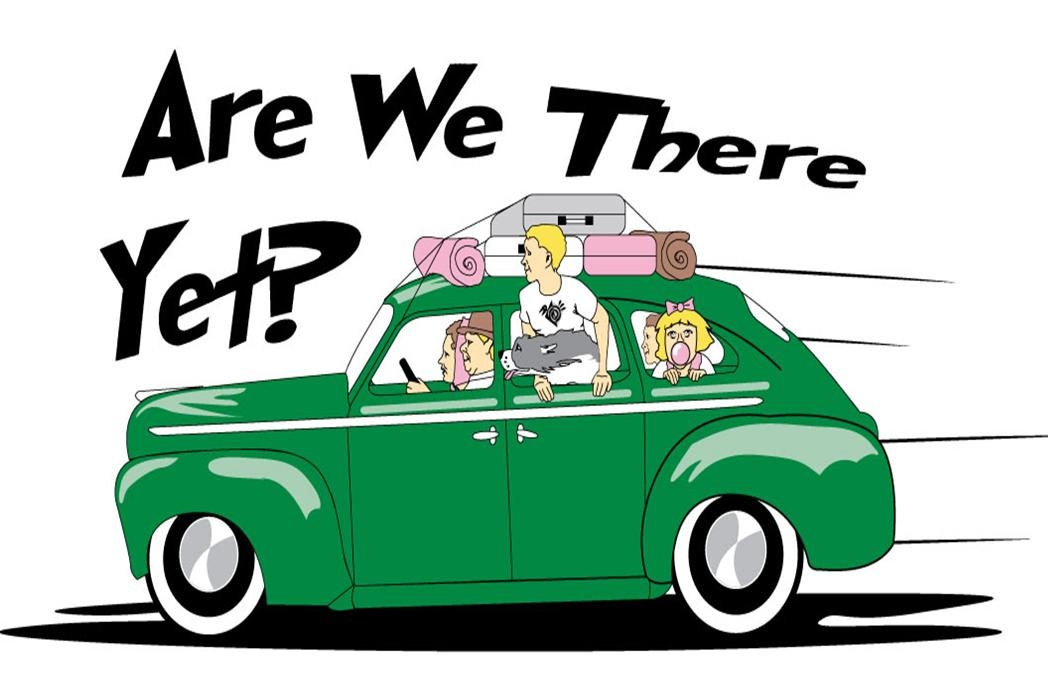 Are We There Yet Clipart.