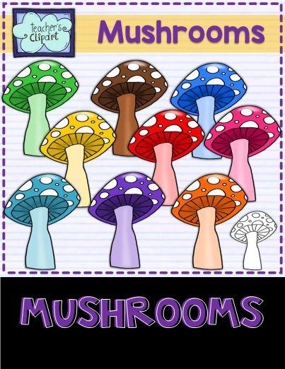 Mushrooms Clip art.