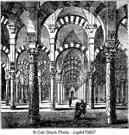 Vectors Illustration of Cathedral.