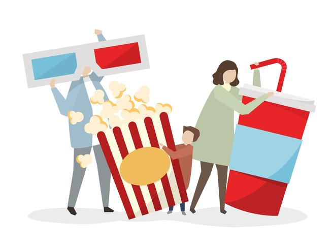 Andare al cinema clipart clipart images gallery for free.