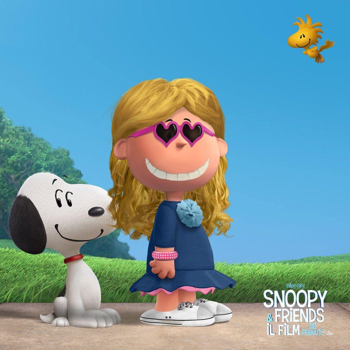 Nell\'attesa di andare al cinema a vedere Snoopy and friends.