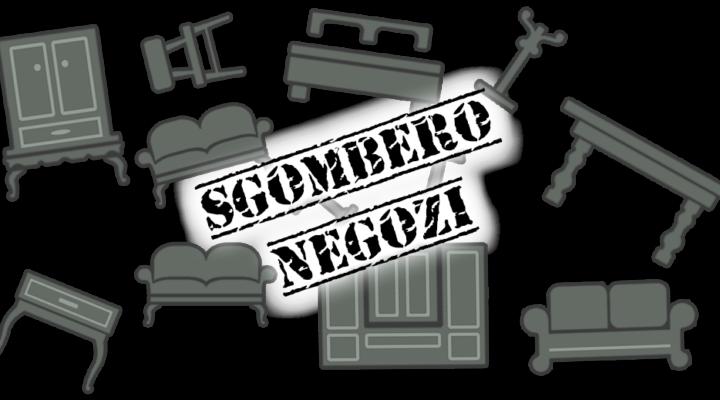 Sgombero Negozi Roma.