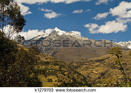 Stock Photo of andean landscape k1279703.