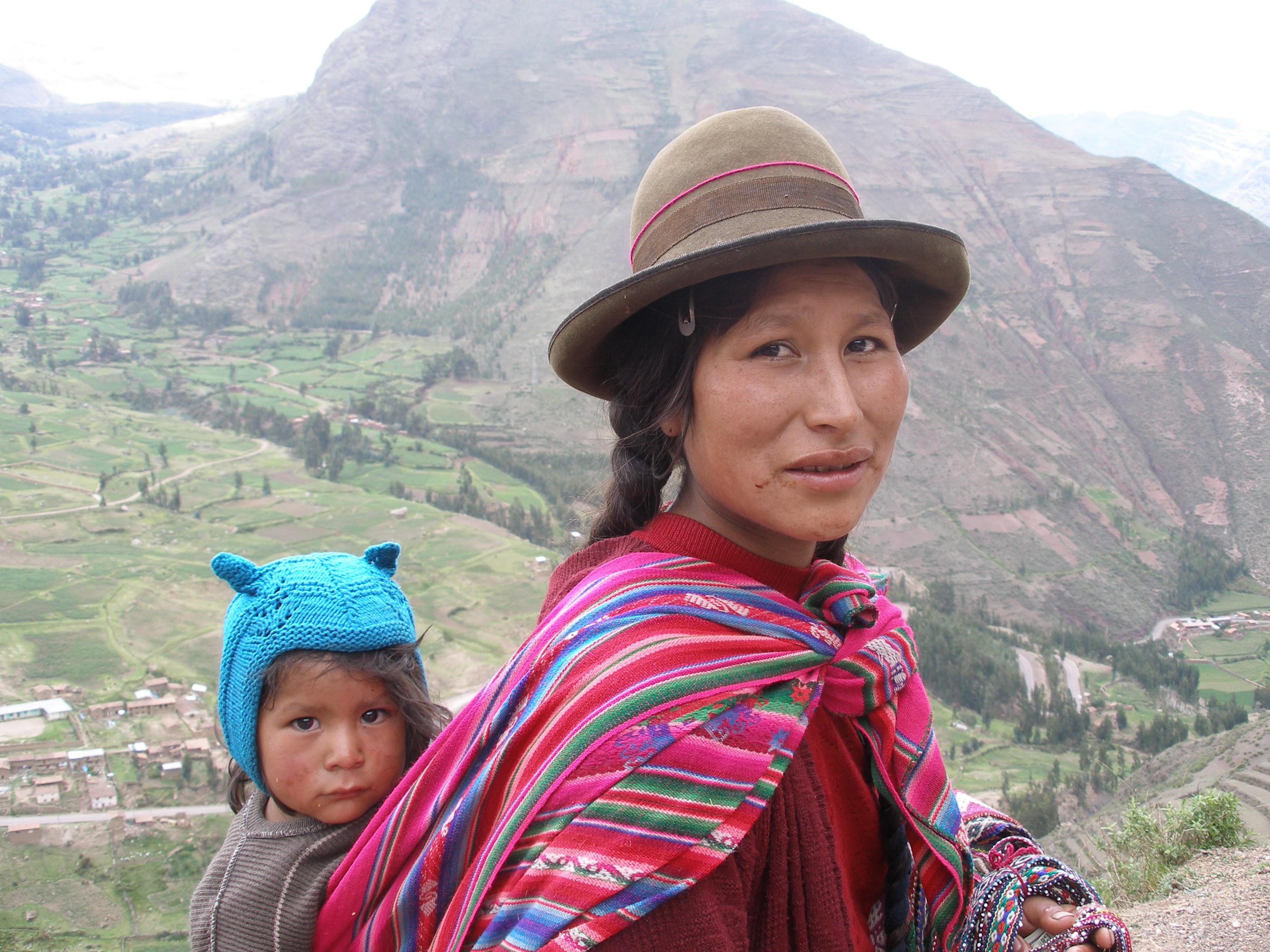 Quechua people.