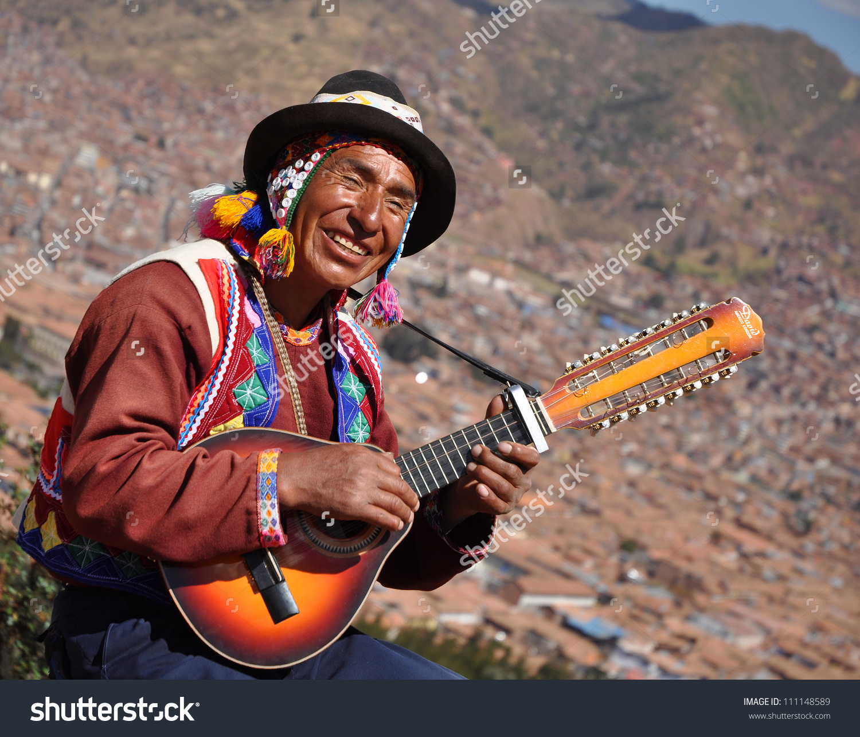 Cusco Peru June 16 Quechua Indian Stock Photo 111148589.