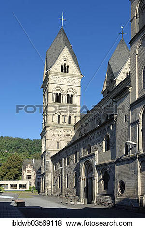 "Pictures of ""Church of Our Lady, Andernach, Rhineland."