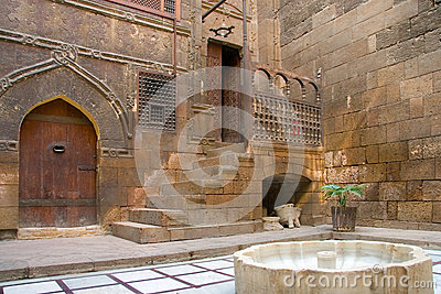 Gary Anderson House, Cairo Stock Photography.