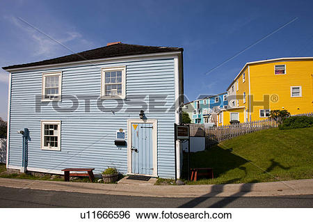 Stock Images of Historic Anderson House in St. John's.
