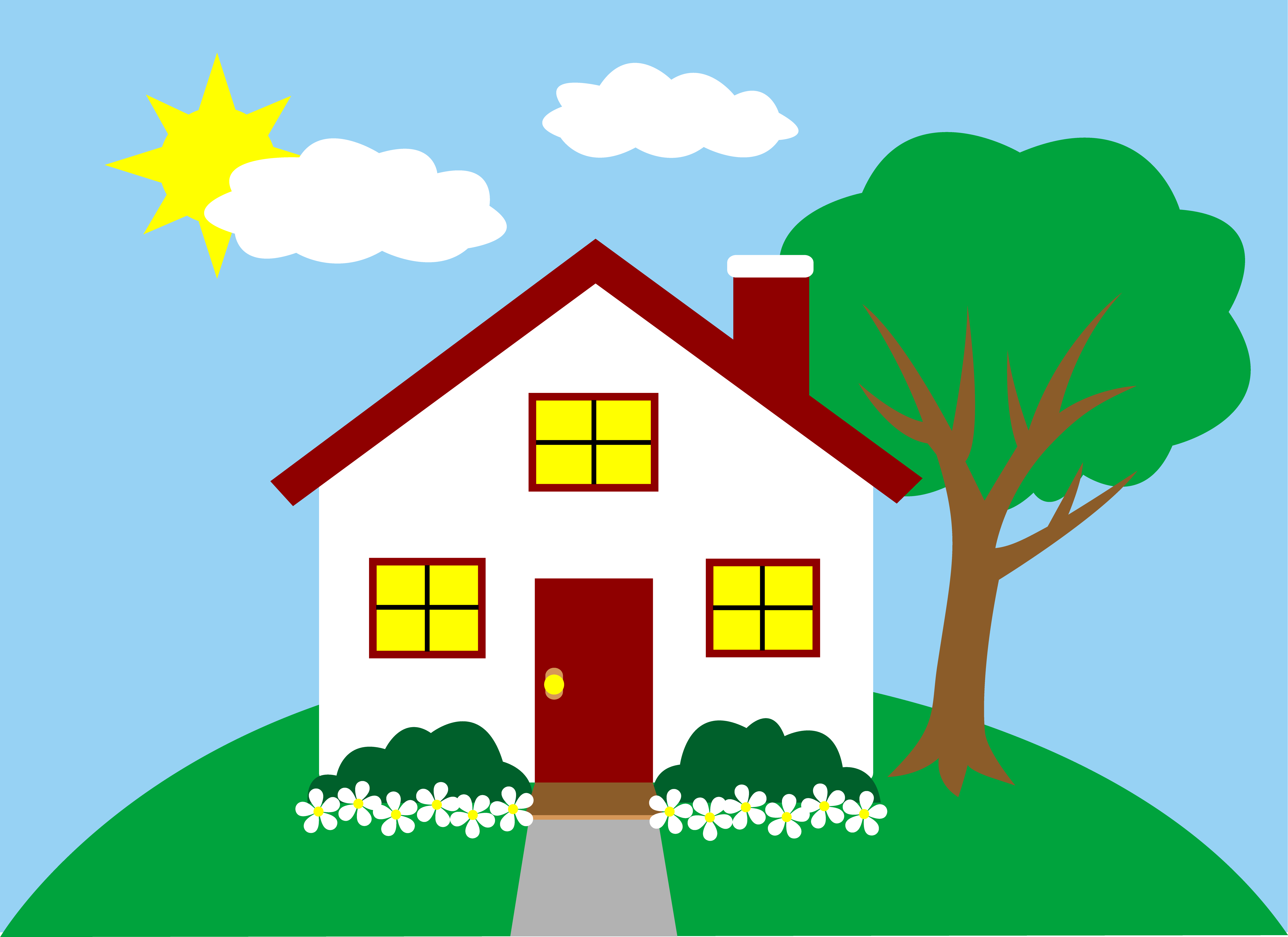 Anderson House Clipart