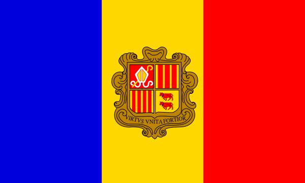 Andorra Flag Clip Art at Clker.com.