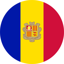 Andorra flag clipart.