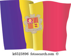 Andorra flag Clip Art and Illustration. 313 andorra flag clipart.