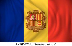 Andorra flag Clip Art and Illustration. 313 andorra flag clipart.
