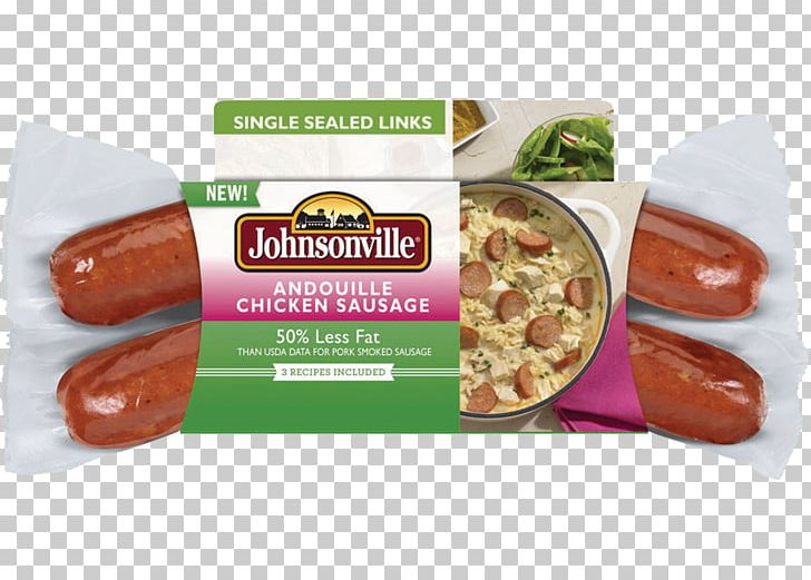 Bockwurst Andouille Rookworst Sausage Johnsonville PNG.