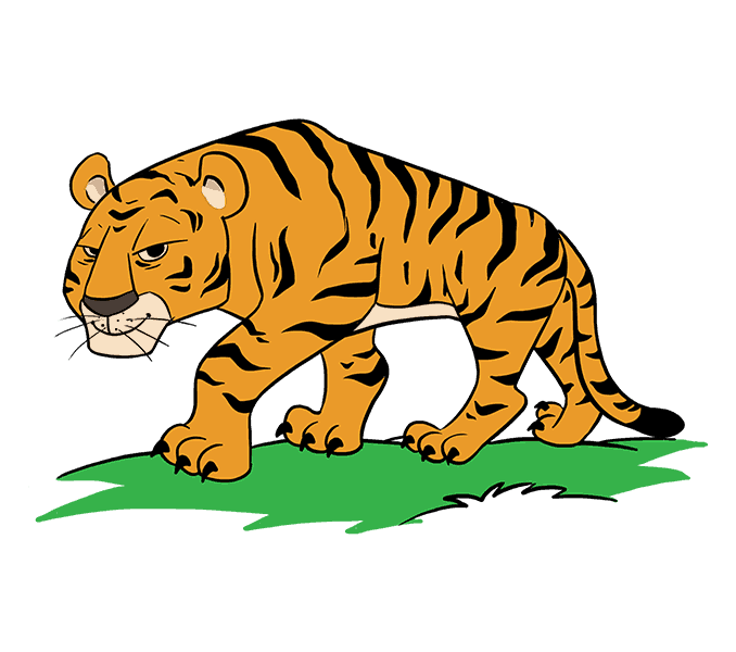 Pictures of cartoon tigers clipart images gallery for free.