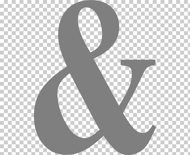 Ampersand Computer Icons Symbol , signs PNG clipart.