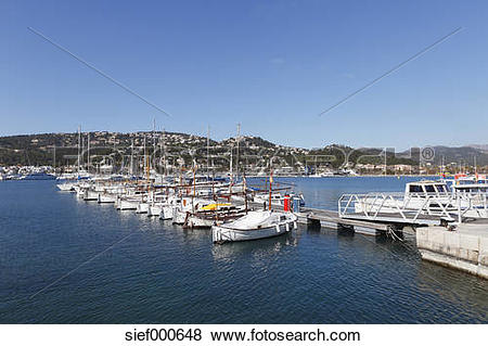 Pictures of Spain, Balearic Islands, Majorca, View of fishing.