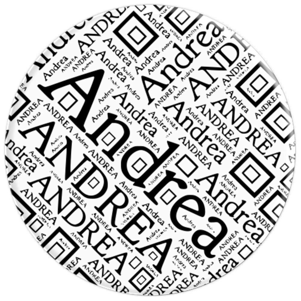 Amazon.com: Andrea First Name Black White Newspaper Print.