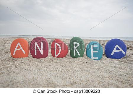 Name Andrea Clipart.