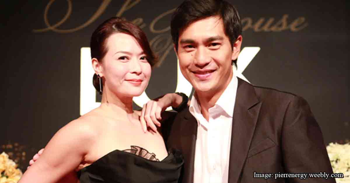 The romance of Pierre Png & Andrea De Cruz could be the most.