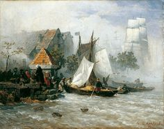 Pin by christine heber on ANDREAS ACHENBACH 1815.