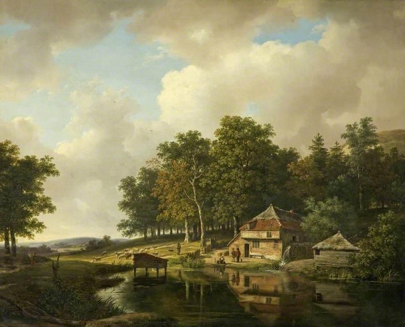 Andreas Schelfhout (1787.