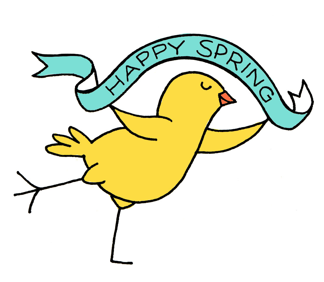 First Day Of Spring Happy Summer Clipart.