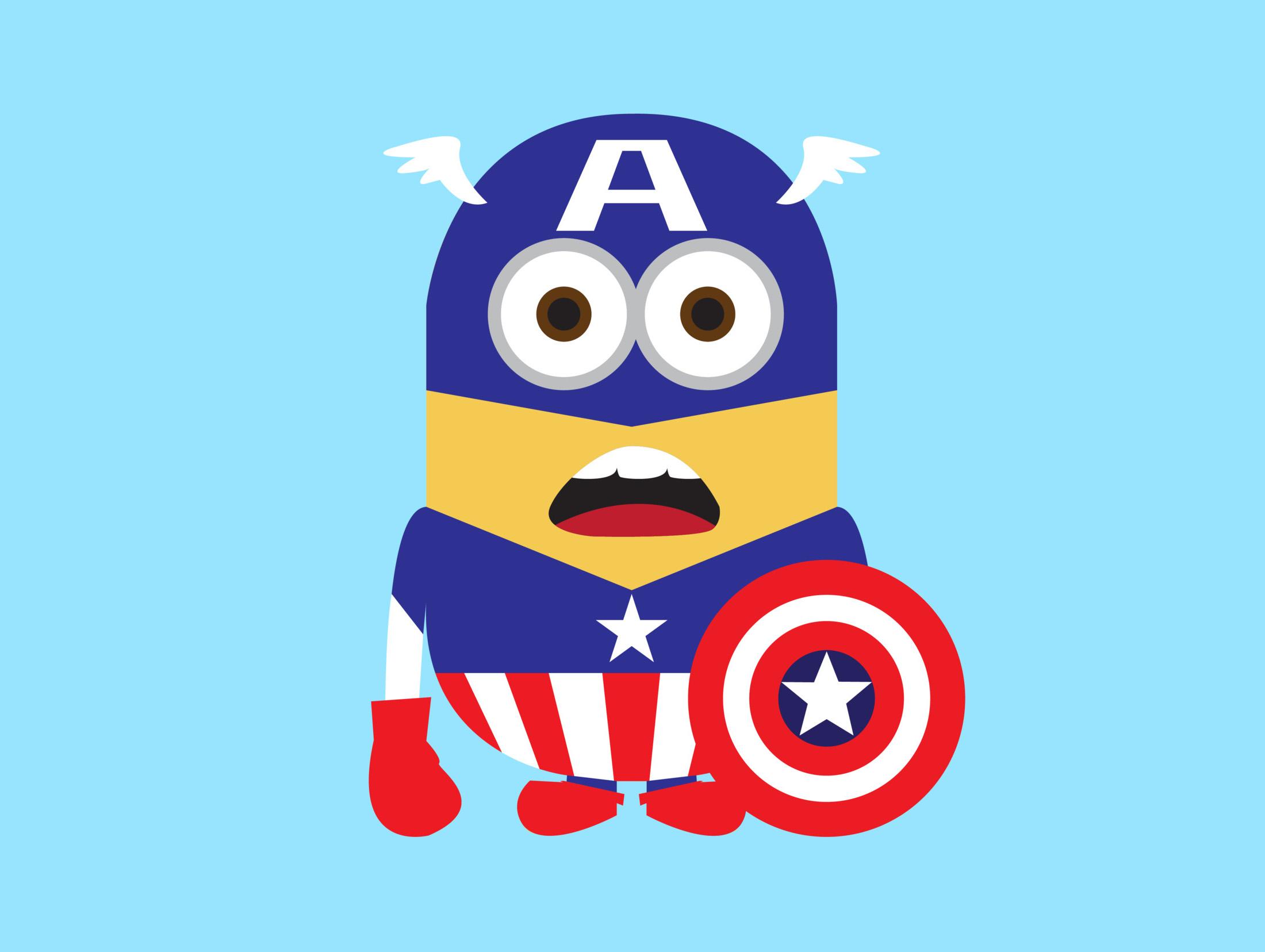 Captain America Logo Clipart.