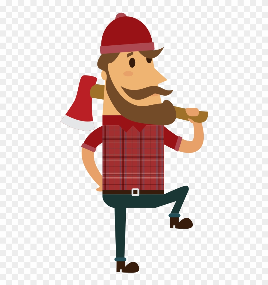 Lumberjack png clipart images gallery for free download.