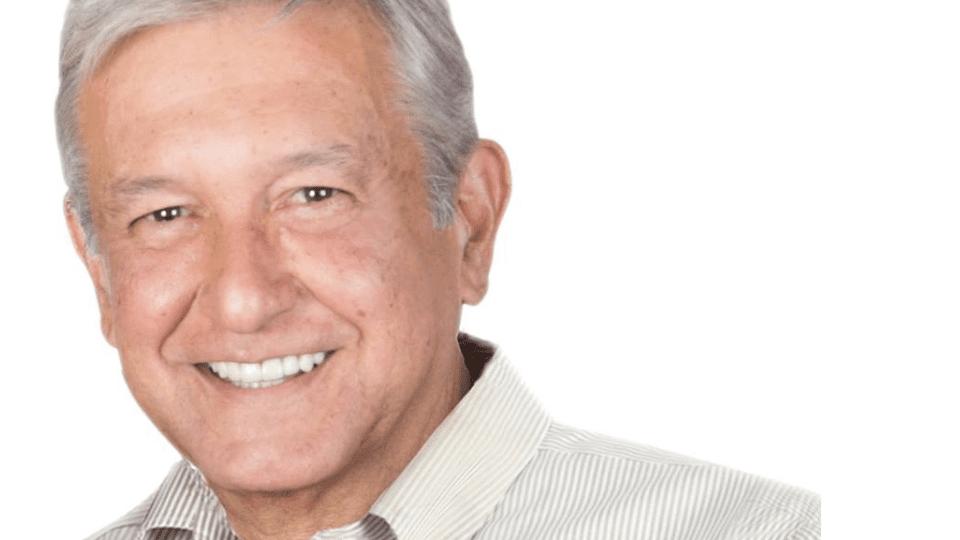 Esta es la nueva imagen de López Obrador.