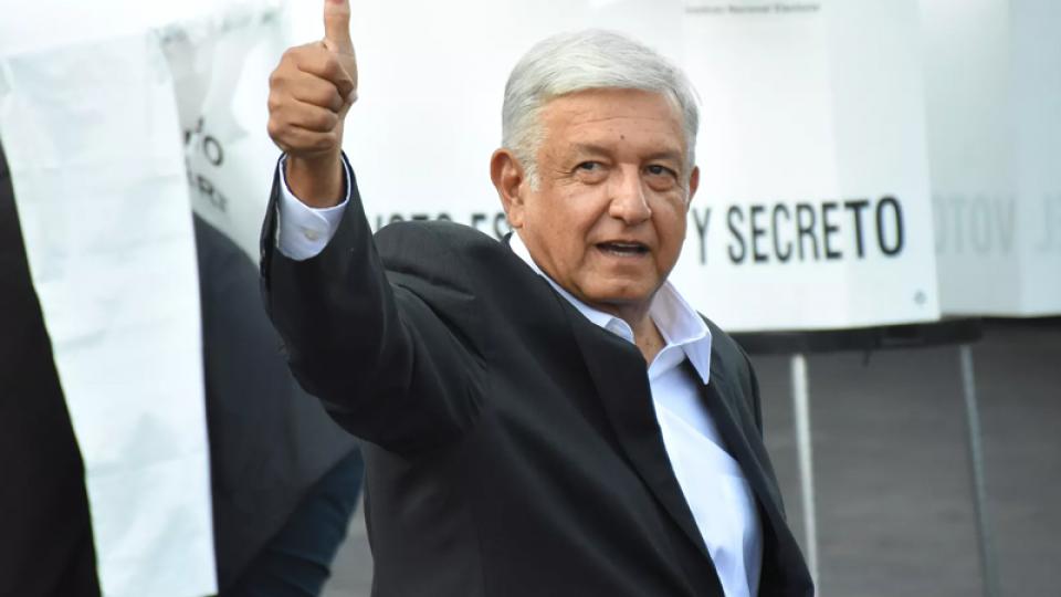 Mexico's next president is 'stubborn' leftist.