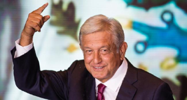 Mexico's Andres Manuel Lopez Obrador Congratulated By U.S. President.