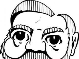 Andrew Carnegie clip art.