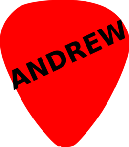 Guitar Pick For Andrew Clip Art at Clker.com.