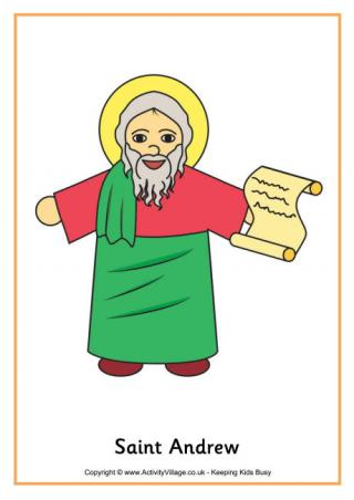 St andrew clipart.