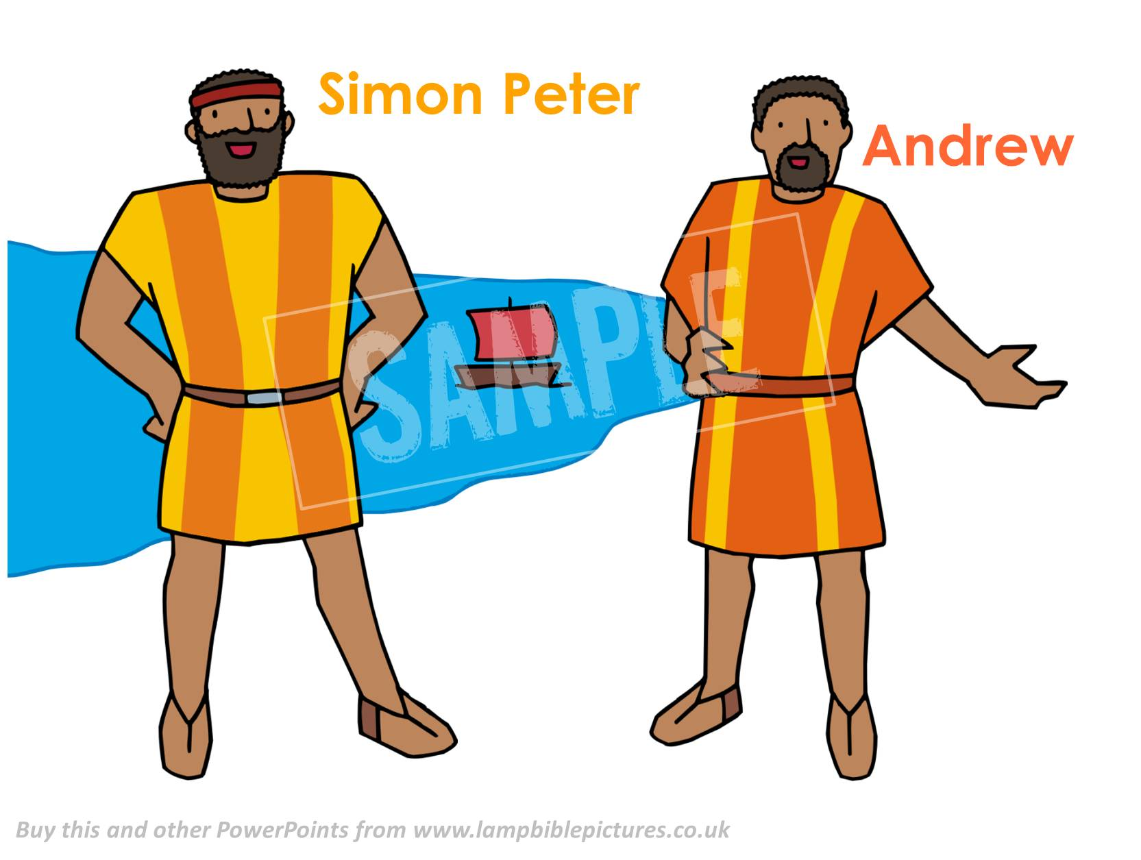 Jesus Calls Peter and Andrew.