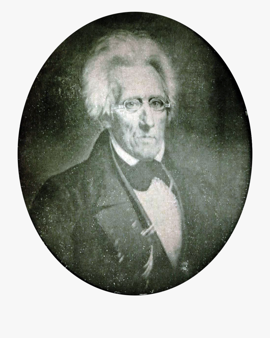 Daguerreotype Of Andrew Jackson , Transparent Cartoon, Free.