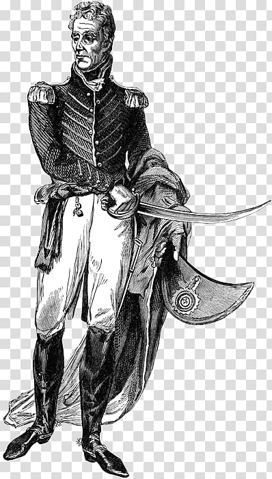 President of the United States Andrew Jackson, 1767.