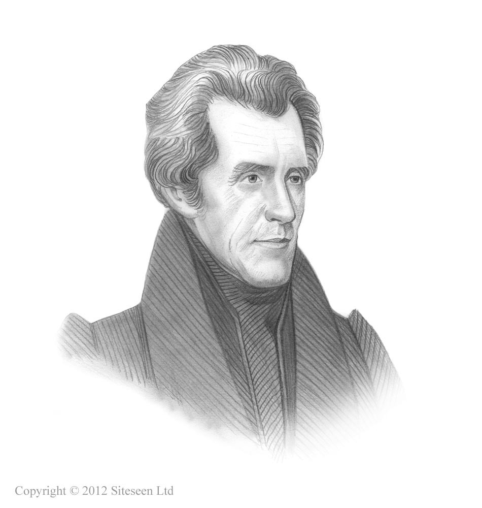 Picture of Andrew Jackson ***.