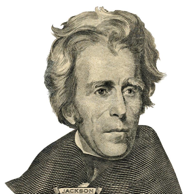 Andrew Jackson Stock Illustrations.