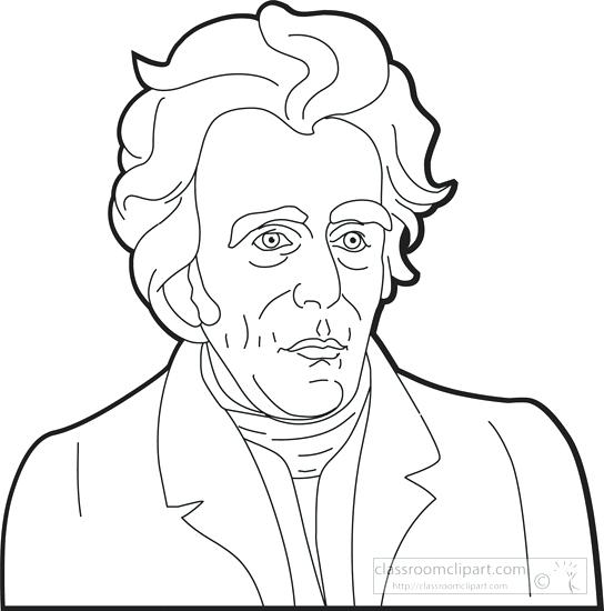 Andrew Jackson Coloring Page at GetDrawings.com.