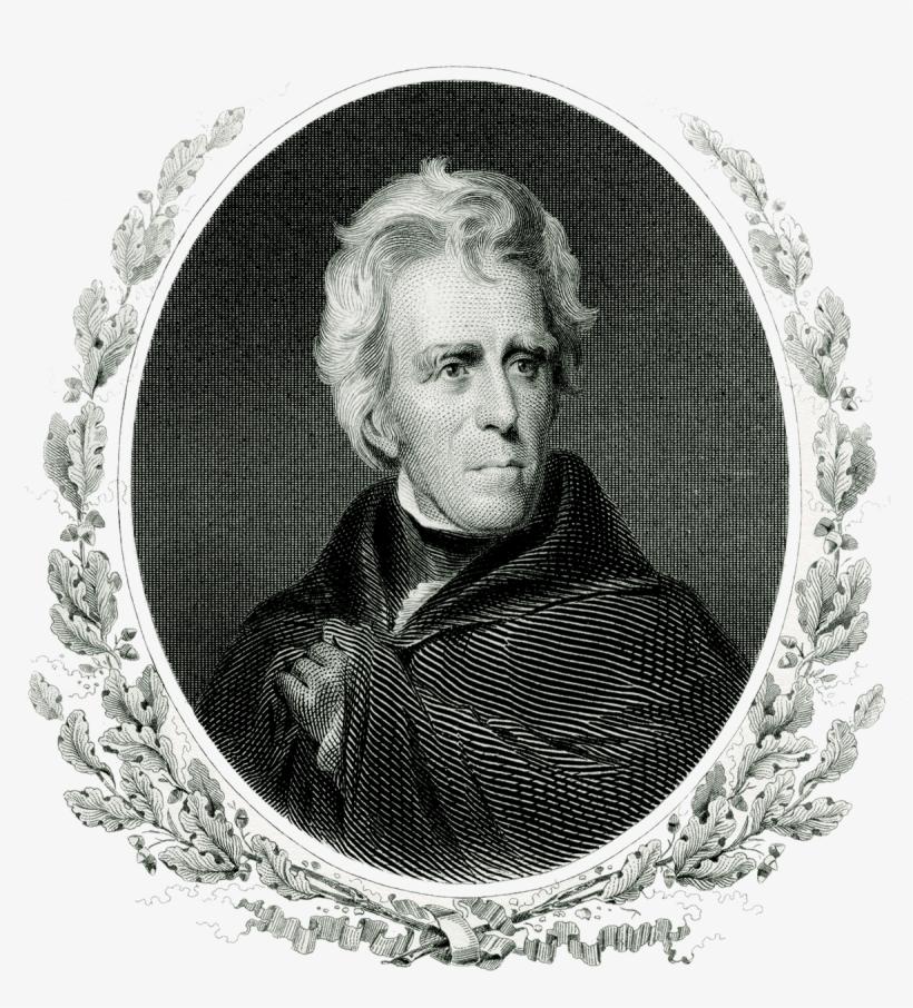President Andrew Jackson Transparent PNG.
