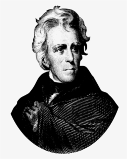 Free Andrew Jackson Clip Art with No Background.