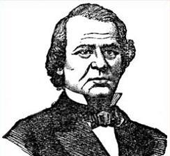 Clipart of President Andrew Johnson.